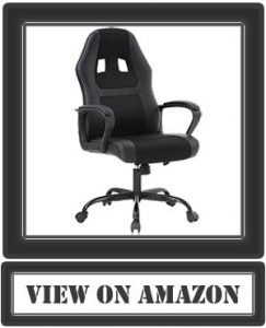 BEST MASSAGE OFFICE CHAIR DESK GAMING RACING HIGH BACK COMPUTER TASK SWIVEL EXECUTIVE SEAT