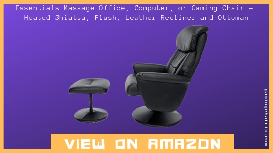 Essentials Massage Office, Computer, or Gaming Chair - Heated Shiatsu