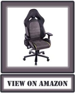 KILLABEE Big and Tall 400lb Memory Foam Gaming Chair - Adjustable Tilt, Back Angle, and 3D Arms Ergonomic High-Back Leather Racing Executive Computer Desk Office Chair Metal Base, Grey