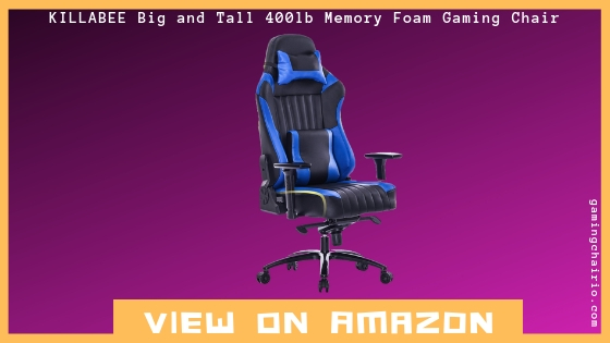 Remarkable Killabee Big And Tall 400Lb Gaming Chair Review Gamerscity Chair Design For Home Gamerscityorg