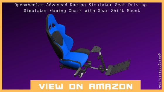 OpenWheeler Advanced Racing Seat Driving Simulator